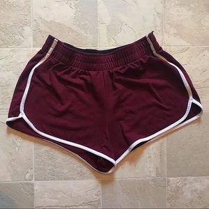 Maroon Dolphin Shorts